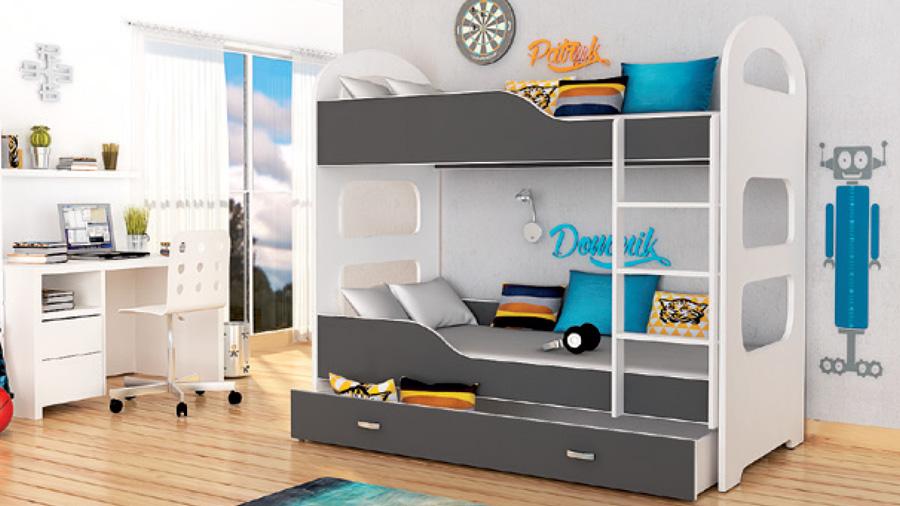 łóżko Piętrowe Domi Pegaz Meble
