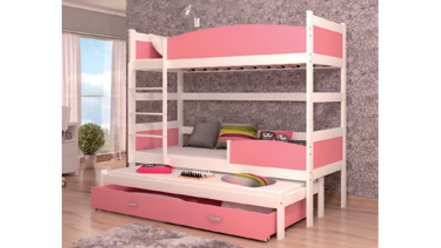 łóżko Piętrowe Twist 3 Pegaz Meble